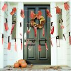 Bar Halloween Banner Halloween Party Bloody Garland Party Decorations Supplies
