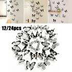 Home Wall Sticker Decal Decor Decoration Living Room Room Wall 12/24pcs 3d