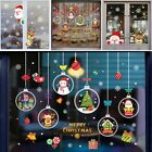 Art Stickers Christmas Home Party Pvc Removable Snowflake Wall Shop Decor