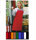 60 RESTAURANT KITCHEN BIB APRONS BLACK,RED,BLUE,GREEN FAST SHIPPING APRONS