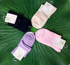 Womens Ladies Girls Silk Ankle Socks One Size Fits Most AF491-1