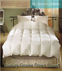 Goose Down Kingsize Bed Duvet 50% Down- 50%  10.5 tog
