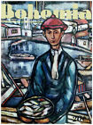 "077.Quality Design poster""Fisherman.Pescador.Marina""Home Interior design art"