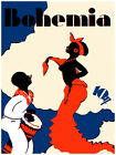 "117.Quality poster""Black Woman dance.Guy play BONGO.Music.Dance Interior design"