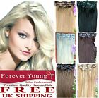 Premium Clip In Remy Human Hair Extensions Forever Young Human Hair Extensions