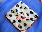 Personalize Dog Blanket  Cat Blanket Choice of Styles Free Pet Name Monogram