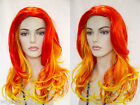Precious Long, Glamorous Layered Waves and Neon Colors Skin Top Costume Wigs