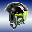UVEX Skihelm comanche 2, black/green