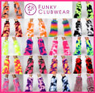 MONSTER FUR COW PRINT READY MADE CAMO FLUFFIES FLUFFY FURRY LEGWARMERS BOOTS