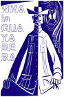 2988  Viva la guayabera cuban fashion painting. Vintage POSTER. Decorative Art.