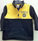 RICHMOND TIGERS 'POCKET LOGO' AFL YELLOW AND BLACK CHILDREN'S (KID'S) FLEECY