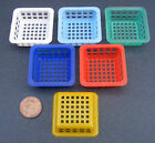 1:12 Scale Small Size Dolls House Miniature Plastic Basket Kitchen Accessory