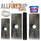 """Register/closure plate kit For Wood Burning Stoves 5""""125mm and 6""""150mm flue pipe"""