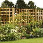 6' X 6' LRG SQUARE TRELLIS PANEL PRESSURE TREATED WOODEN TIMBER GARDEN FENCING