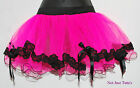 TUTU 2 LAYER WITH LACE UNIQUE SCALLOPED EDGE FROM £12.49 FREE P&P ADULT CHILD