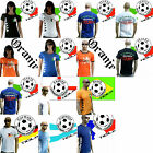 TICILA Fussball WM EM Fan T-Shirt Trikot S/M/L/XL/XXL Frauen Herren Lady Men WoW