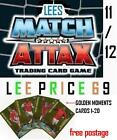 MATCH ATTAX 11/12 CHOOSE ANY GOLDEN MOMENTS CARDS (LIST 1-20)