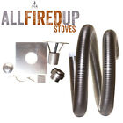 "6"" Flexible Flue Liner Installation Kit 5 For Wood Burning Stove 5"" To 6"""