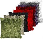 1PC*New Ribbon Raised Leaves Decoration Throw Pillow Cushion Covers Pillow cases