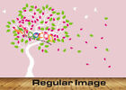 """Wall Decor Decal Sticker Removable vinyl large Dancing Tree Birds 68"""" DC028968"""