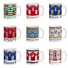 PERSONALISED FOOTBALL SHIRT TEAM MUG, FATHERS DAY BIRTHDAY CHRISTMAS gift idea