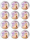 FROM £3 - KATY PERRY EDIBLE ICING SHEET / CAKE TOPPER - 11 sizes & shapes!!