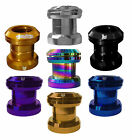 TEAM DOGZ THREADLESS ANODISED HEADSET FOR STUNT SCOOTER GOLD GREEN BLUE PURPLE