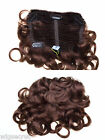 """Attach a Piece Curly 6"""" X 10"""" Clip-in-Extensions Clip On Hair Pieces Wiglet Fall"""