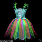 Blue b004 UsaG gi3 X'mas Baby Toddler Party Dance Ballet Dress 1,2,3,4,5,6-9 y