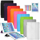 Premium Stand Front Smart Leather Case Cover for New Apple iPad Mini 3 2 1