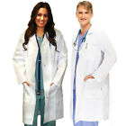 Medical White Unisex Long Lab Coats XS S M L XL 2XL 3XL For Men Women Lab Coat