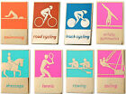 London Olympic Games  2012 Track Cycling Gymnastics Dressage Rowing Pin Badge