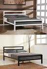 3FT Single 4FT6 Double or 5FT King Size Modern Metal Bed Frame & Mattress Deal
