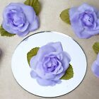 """12 pcs 2.5"""" wide Craft ROSES Flowers Wedding FAVORS Decorations Sewing SUPPLIES"""