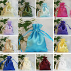 "360 pcs 3x3.5"" SATIN FAVOR BAGS Wedding Drawstring Gift Pouches Wholesale SALE"