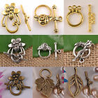 20sets tibetan silver/gold /Bronze Plated Toggle Clasps Jewelry Diy Finding HOT