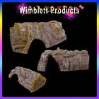 BARK & WOOD EFFECT REPTILE CAVE/HIDE for reptile gecko spider snake