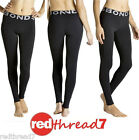 Bonds New Active Womens Running Gym Tights Leggings Pants Black Cool Sports Size