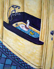 duck bath bather art PRINT JSCHMETZ modern american folk *GIFT bathroom