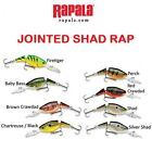RAPALA  JOINTED SHAD RAP, JSR-05, 1/4 OZ, NIB, CHOICE OF COLORS