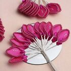 144 Leaves with Rhinestone & Pearls - CRAFTS SUPPLIES Wedding FAVORS Decorations
