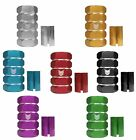 SCOOTER SCS COMPRESSION NUT CLAMP FOR Y BARS RED BLUE GREEN BLACK SILVER GOLD