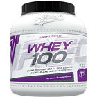 Trec Whey 100 Powder 900/1500/2275g Protein Building Muscles Free P&P