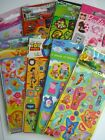 CHARACTER FUN STICKERS (Party Loot Bag Fillers) - 6 Sheets/Pack - Large Range