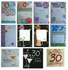 30th BIRTHDAY (Age 30) Party INVITATIONS & Envelopes {Fixed £1 UK p&p}(PI)