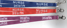 1 x NURSE Neck Strap Safety Lanyard - 3 Colours Available! FREE UK P&P