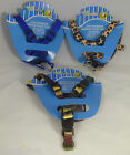 PAWS N CLAWS DOG HARNESS IN CAMO COLOR LEOPARD AND BLUE COLORS NEW IN PACKAGE