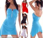 Miniabito Vestitino Vestito  Donna Abito Bodycon 4WORLD  2310-A879 Tg Unica