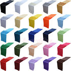 "10PCS 12""x108"" 30x275cm Satin Table Runner Wedding Party Decoration 26 Colors"
