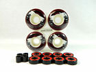 Blank Pro Skateboard 52mm Graphic Color Wheels + ABEC 7 Color Bearings + Spacers